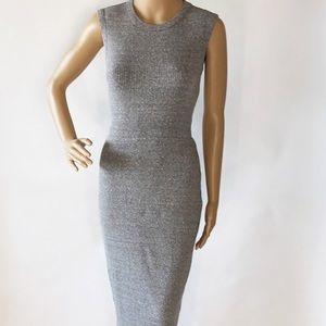 Grey Enzo Costa Dress